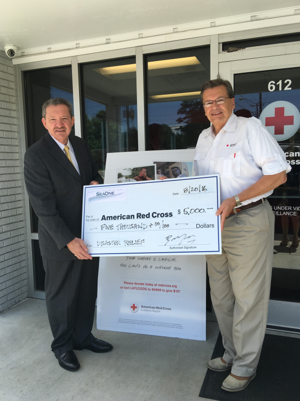 SOG Donates to American Red Cross